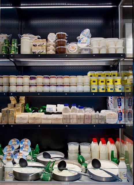 yaourts et fromages blancs frais à Lyon